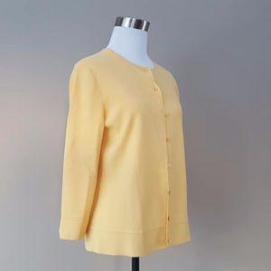Wear It Like Mrs Maisel Yellow Sweater Top Medium